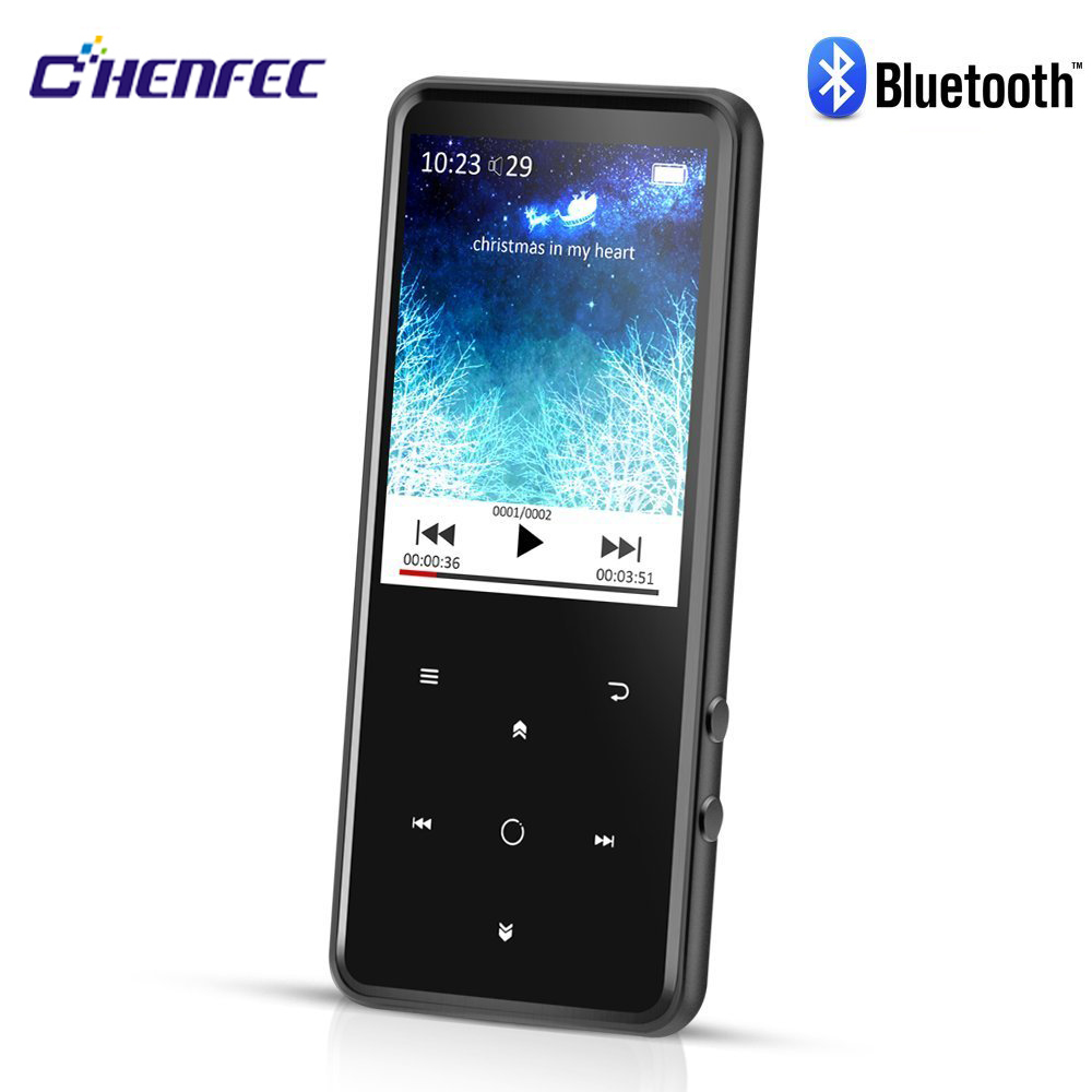 MP4 Player Bluetooth 4.0 and Speaker 2.4inch Screen Metal Body 16GB HD Lossless Sound Player Support FM Radio ,Recorder,TF C10