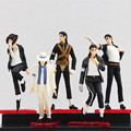 5Pcs/set Cartoon MICHAEL JACKSON Action Figure Doll High Quality Model Toys For Kids Collectible Toy Doll for Boys