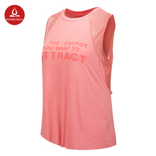 2017 Sexy Letter Printed Women Shirt Yoga Top Quick-Dry Running Shirt Tops Breathable Sports Jerseys Gym Tank Top Sport Clothing