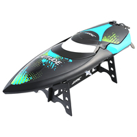 JJRC S3 Remote Control Boat RC Water Yacht Latitude Pattern Black