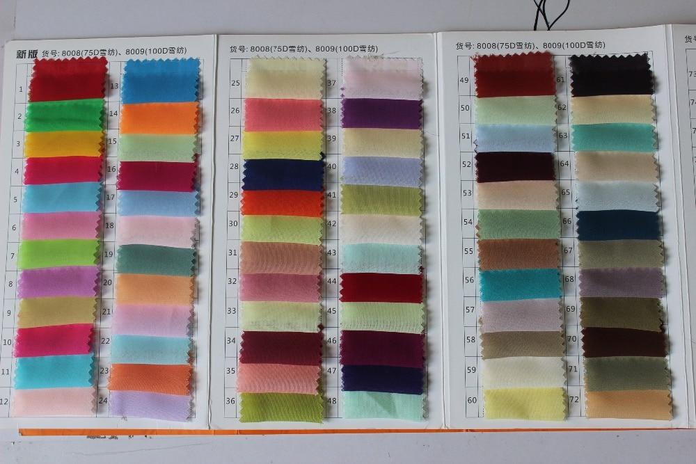 Chiffon Color Chart 1
