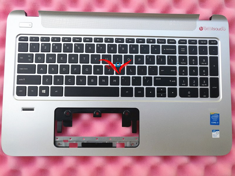 NEW !!! Original Palm Rest For HP Envy 15 15-K series laptop Palmrest & Keyboard Top Cover C Shell 763578-001