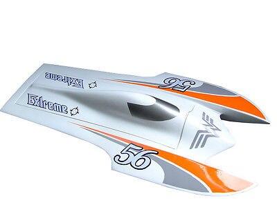 E22 2550KV Fiber Glass Electric Brushless RC Racing Boat 90A ESC PNP Catamaran