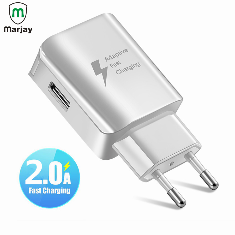 Universal USB Phone Charger EU US Plug Travel Wall Fast Charger Adapter