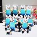 Приключения время Плюшевые Игрушки Джейк Финн Beemo BMO Пингвин Гюнтер Ice king Сотовый Телефон Ремешок Фаршированная Мягкая Кукла 10 шт.