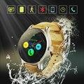 2016 новый K88H смарт часы с 1.22 дюймов IPS круглым экраном поддержка анти-потерянный пульсометр Bluetooth часы для IOS