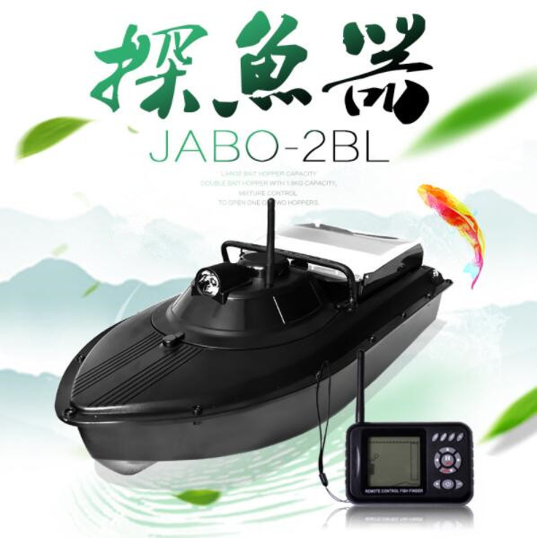 Original RC fishing Boat toys Sonar fish detector JABO-2BL JABO 2BL Fish Finder Boat Fishing supplies Bait Boat VS Jabo 5A 5CG free shipping factory price catamaran hull jabo 5a long distance two hoppers rc bait boat for releasing hook