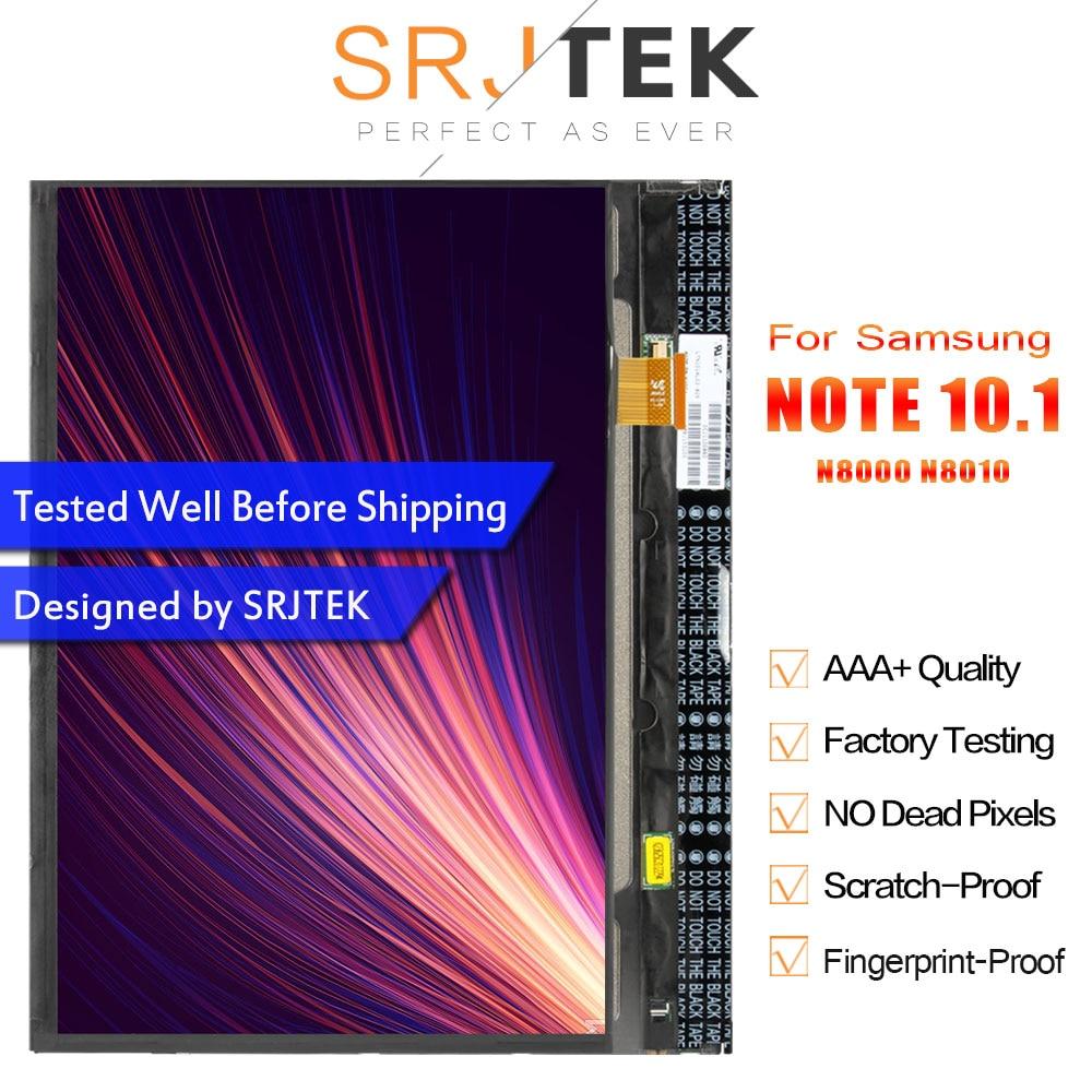 SRJTRK LCD pour Samsung Galaxy Note 10.1 GT-N8000 N8000 N8010 LCD affichage matrice écran panneau tablette PC pièces de rechange