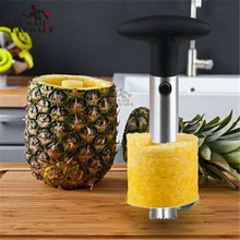купить Advanced Stainless Steel Fruit Pineapple Peeler Corer Slicer Cutter Kitchen Easy Gadget дешево