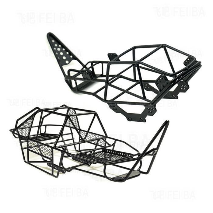 1/10 Rc Rock Crawler Metall Roll Cage Für Axial Scx10 90027 90022