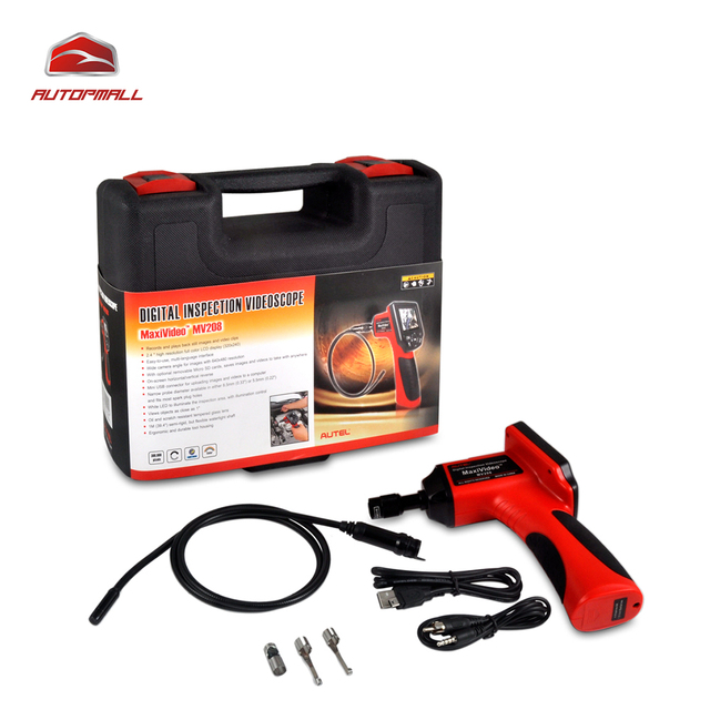 Diagnostic Tool Autel Maxivideo MV208 8.5mm Camera Imager Head Digital Inspection Videoscope Diagnostic Boroscope Endoscope