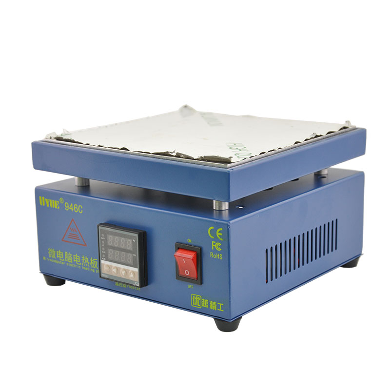 110/220V 800W UYUE 946C Electronic Hot Plate Preheat Preheating Station 200x200mm For PCB SMD Heating Work110/220V 800W UYUE 946C Electronic Hot Plate Preheat Preheating Station 200x200mm For PCB SMD Heating Work