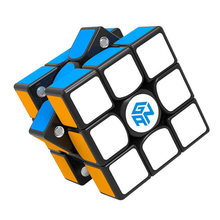 цены GAN 356 X Magnetic Magic Cubes Profissional Gan 356x Speed Cube Magnets Cube Puzzle Neo Cubo Magico gans 356 X  Children's Toys