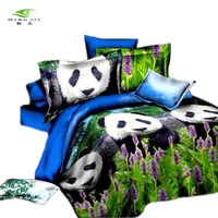 Woven 3D Bed Spread Swan Bedding Sets for Queen Size Duvet Cover for Boys and Girls Bed Sheet for Wholesaling Bed Linen China