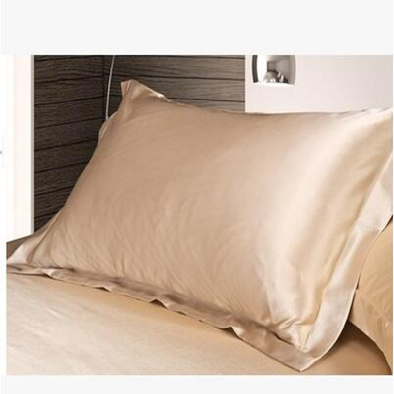New Hot Silk Cotton Pillow Covers Pillowcases Mulberry