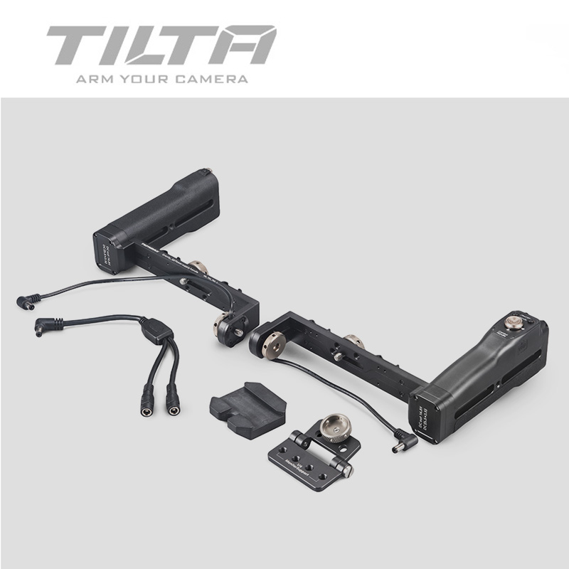 <font><b>TILTA</b></font> Bluetooth Dual Grip Battery Handles w/ ON/OFF button for G1 G2 G2X 3-AXIS <font><b>Gimbal</b></font> stabilizer Gravity G Series image