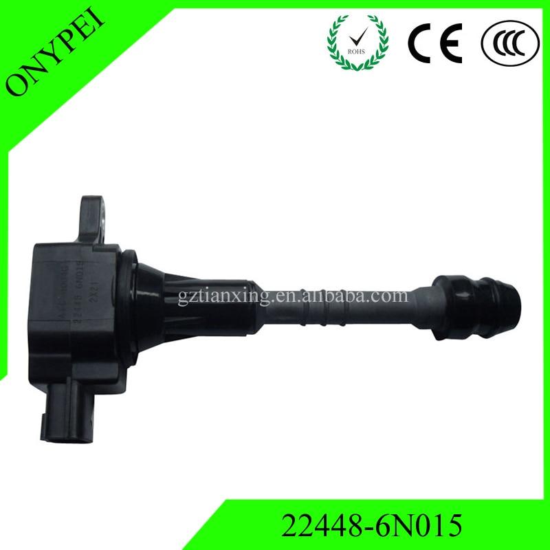 22448-6N015 AIC-4004G 22448-6N011 Ignition Coil For 2001-2006 Nissan Sentra 1.8 Almera N16 Primera P11 22448 6N015 224486N015