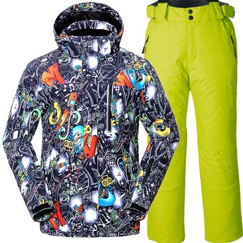 Prix pour Adolescente Coupe-Vent Respirant Veste et Pantalon Pour Garçons Livraison gratuite Hiver Ski Costume Enfants Snowboard Ski Vêtements