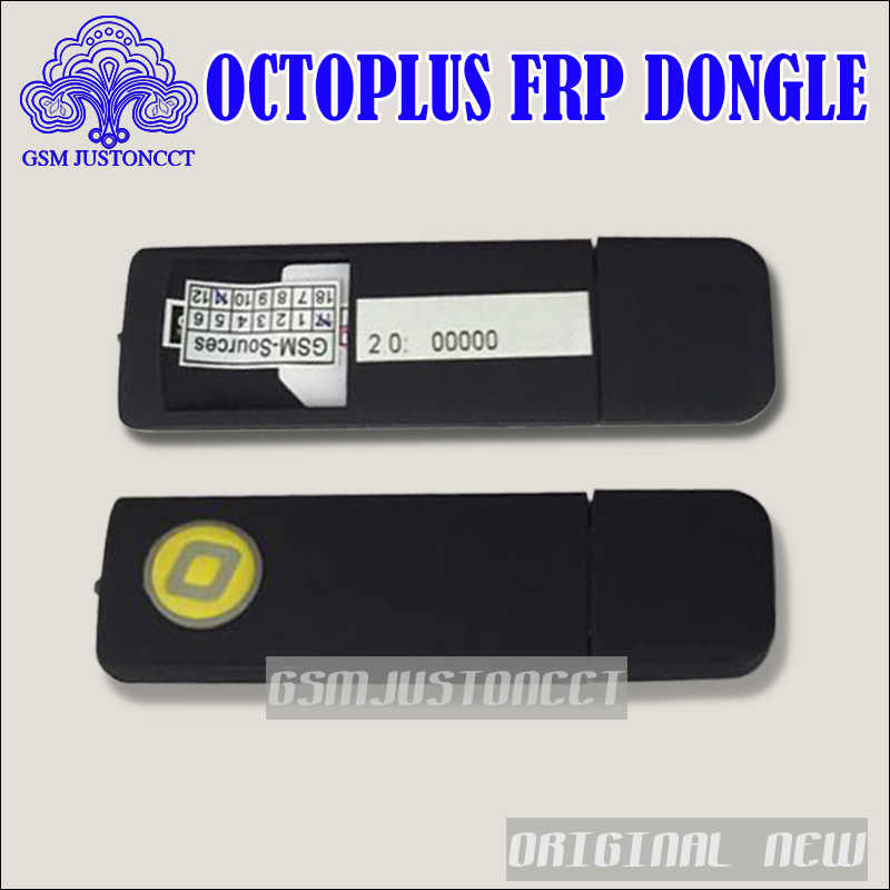 Octoplus FRP tool dongle with Octplus FRP UART cable 2 in 1 set ( Micro +  type C cable ) for Samsung, Huawei, LG, Alcatel, Motor