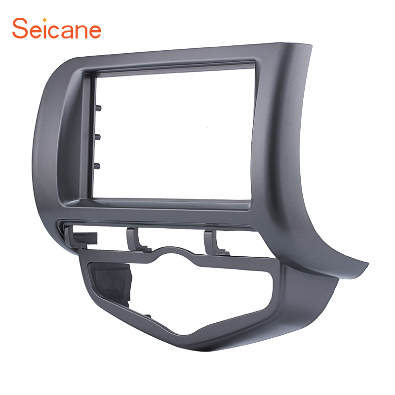 Seicane Double Din Car Radio Fascia For 2006 Honda Jazz City Auto AC LHD DVD Player