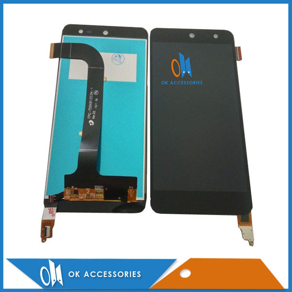 High Quality For General Mobile Discovery 4G LCD Display+Touch Screen Digitizer Black Color 1PC/Lot