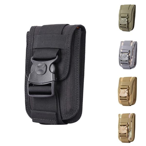 1000d Waterproof Men Tactical Molle Pouch Outdoor Edc Bag Backpack Gadget Belt Waist With 6