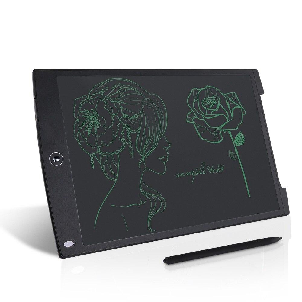 Howshow 12 polegada LCD Escrita Tablet de Desenho Digital Placa Gráfica Placa Grafic Almofadas de Escrita Eletrônica Portátil com caneta