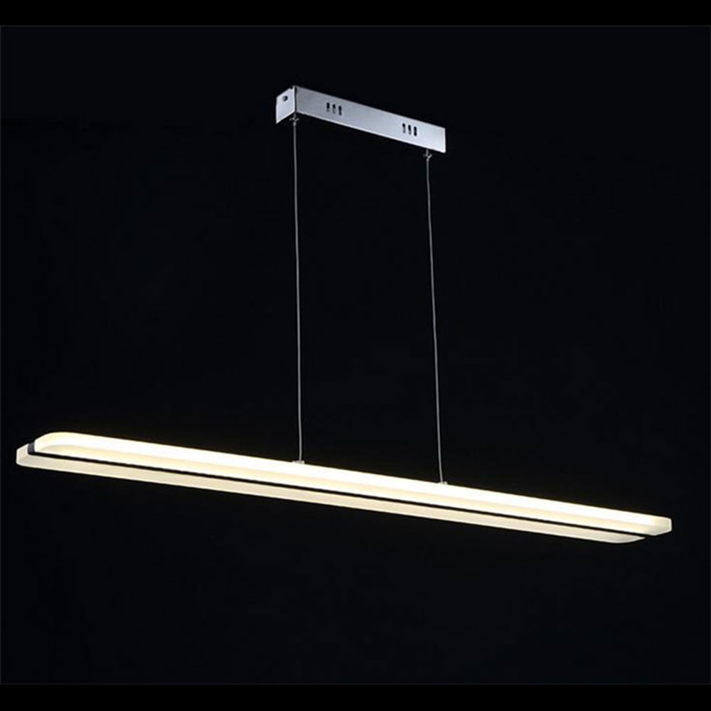 Led restaurant lights kitchen room lustres suspension for Lustre 3 suspensions