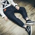 Calças de brim dos homens denim calças de brim dos homens soltos novo hip hop harem pant calças stretch calças de ganga homem ocasional 100% algodão plus size XS-4XL