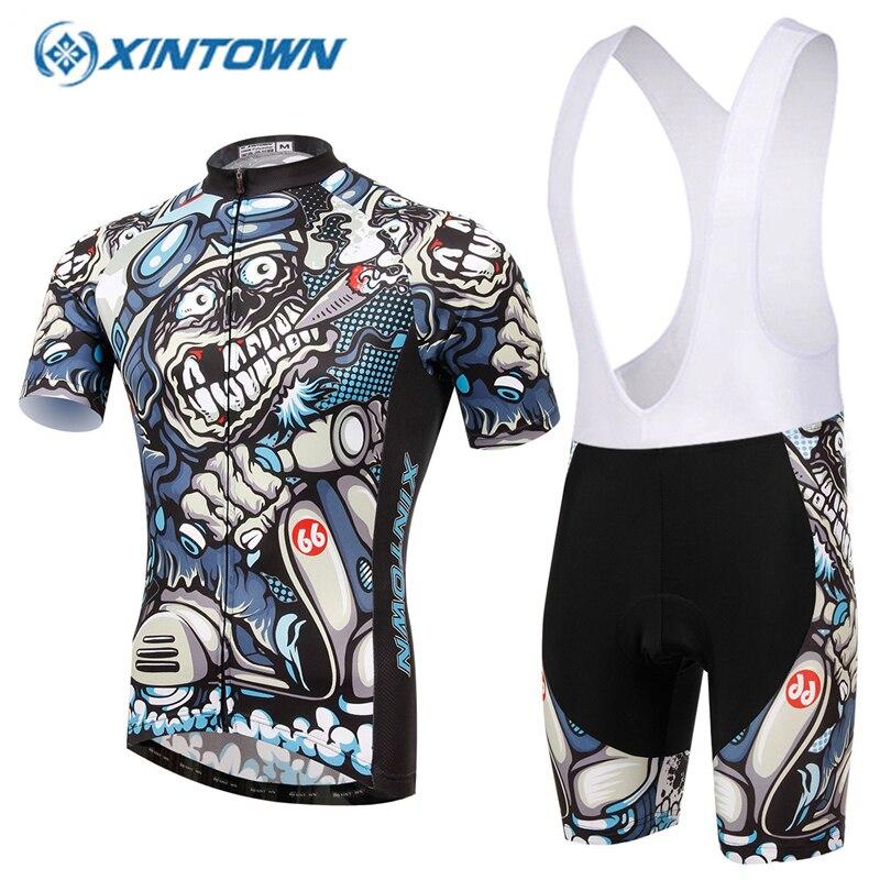 XINTOWN Pro Cycling Jersey set capacete de ciclismo de estrada psg cycling  dress Maillot Velo Vetement 67240a2c1