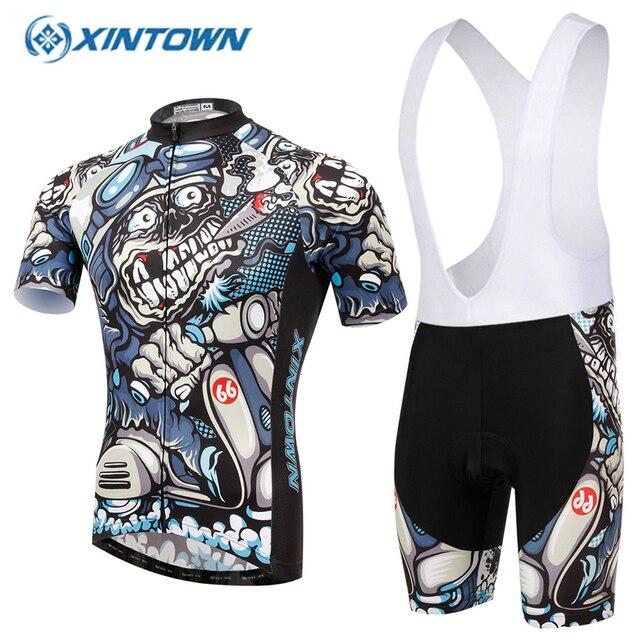 dddc7d220 XINTOWN Pro Cycling Jersey set capacete de ciclismo de estrada psg cycling  dress Maillot Velo Vetement Homme Ropa Ciclismo