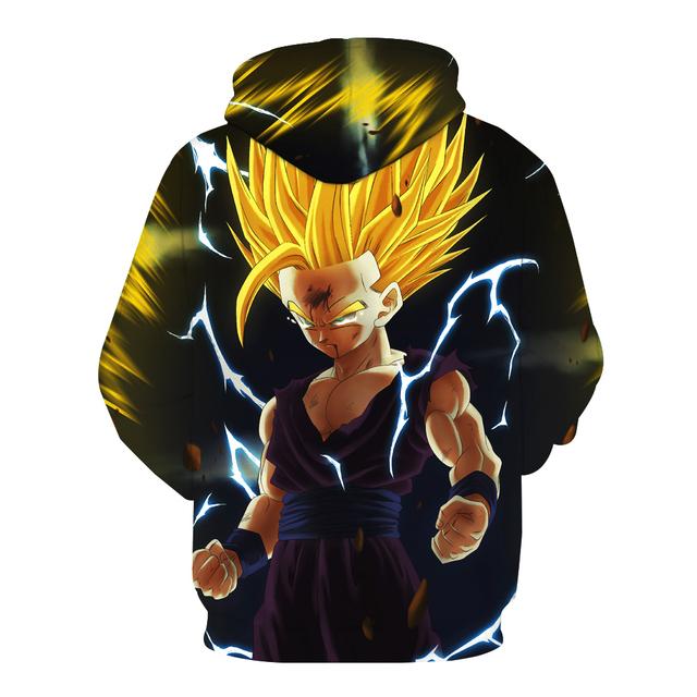 Super Saiyan Gohan Hoodie Sweater