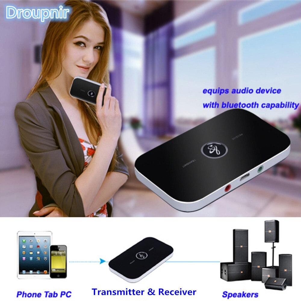 Unterhaltungselektronik Funkadapter Offen B6 2in1 Bluetooth 4,1 Sender Empfänger Drahtlose A2dp Audio Adapter Aux 3,5mm Audio Player Für Tv Stereoanlage Smartphone Pc