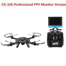 2016 newest Cheerson CX-32W CX-32S Professional rc drone Original 4CH 5.8G FPV RC Quadcopter with HD Camera vs JJRC X1 syma X8W