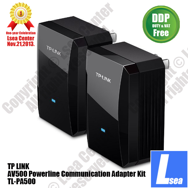 TP-LINK AV500 Powerline Communication Adapter Kit IPTV Plug & Play DDP Price Term Lsea Center Cost Offer (TL-PA500)