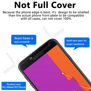 Image 4 - 2.5D Protective Tempered Glass On For Samsung J2 Pro 2018 Glass Screen Protector Film For Samsung Galaxy J2 Prime 2j J 2 Cover
