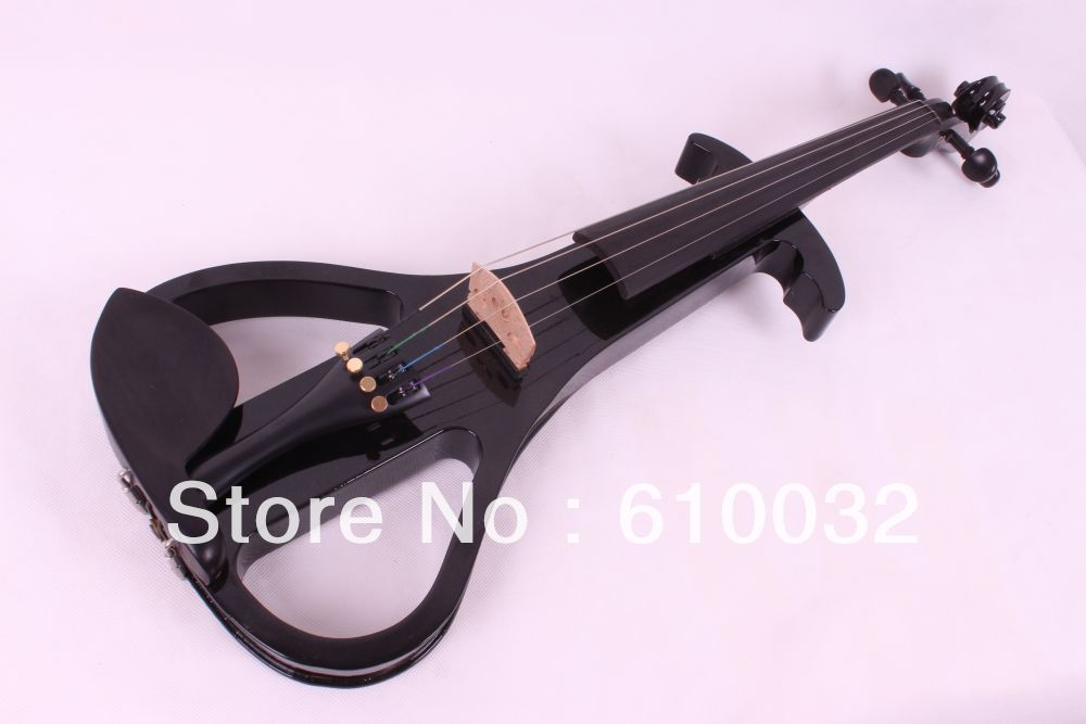 4 strings new 4/4 Electric Violin Silent Pickup Fine tone parts include New Golden Color #5-22 red color 4 4 electric violin patent silent pickup 2 05
