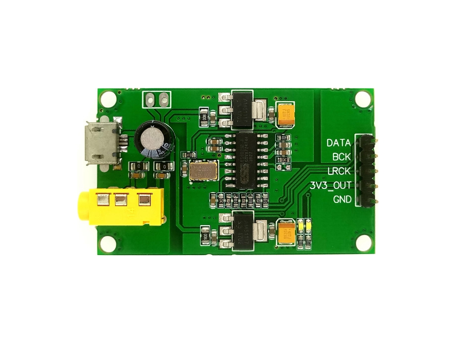 ES9023P I2S IIS Stereo Digital Audio Input DAC Decoder Board to AUX Analog Output