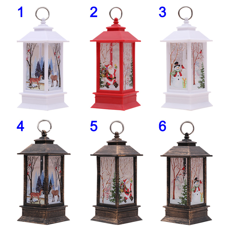 Home Decor Sale: Christmas Candlestick Lantern Light Candle Holder Lamp