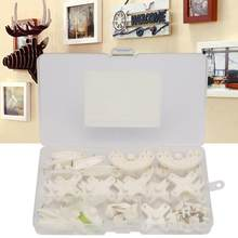51pcs Without Mark Picture Hooks Wall Hanger Kit Hook Suit for Wedding Photos wall frame hanger frame hanging kit(China)