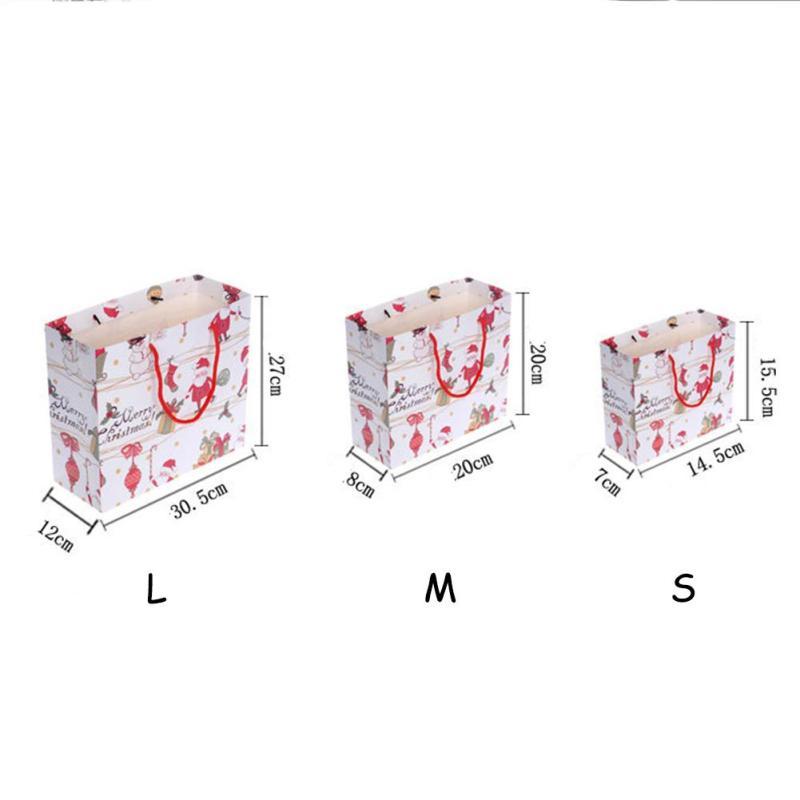 1 stück Cartoon Weihnachtsmann Muster Geschenk Verpackung Tasche ...
