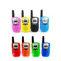 Children Outdoors Toy Handheld Game Walkie Talkie Kids Intercom Two Ways Radios Unisex Mini Gadgets 2pcs/set Child Toys et016