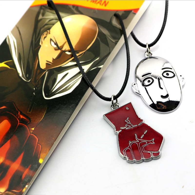 Pendant Fist Cosplay-Collection Necklace/keychain Anime One-Punch man Creative Saitama