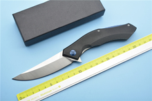 XS-EDC   G10 D2 blade handle blue moon scimitar outdoor camping multi-purpose EDC tool