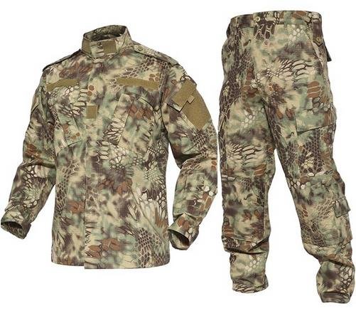 Tactical Military Camouflage Combat Uniform Us Army Airsoft Camo BDU waterproof men clothing set Outdoor Hunting suits FG lurker shark skin soft shell v4 military tactical jacket men waterproof windproof warm coat camouflage hooded camo army clothing
