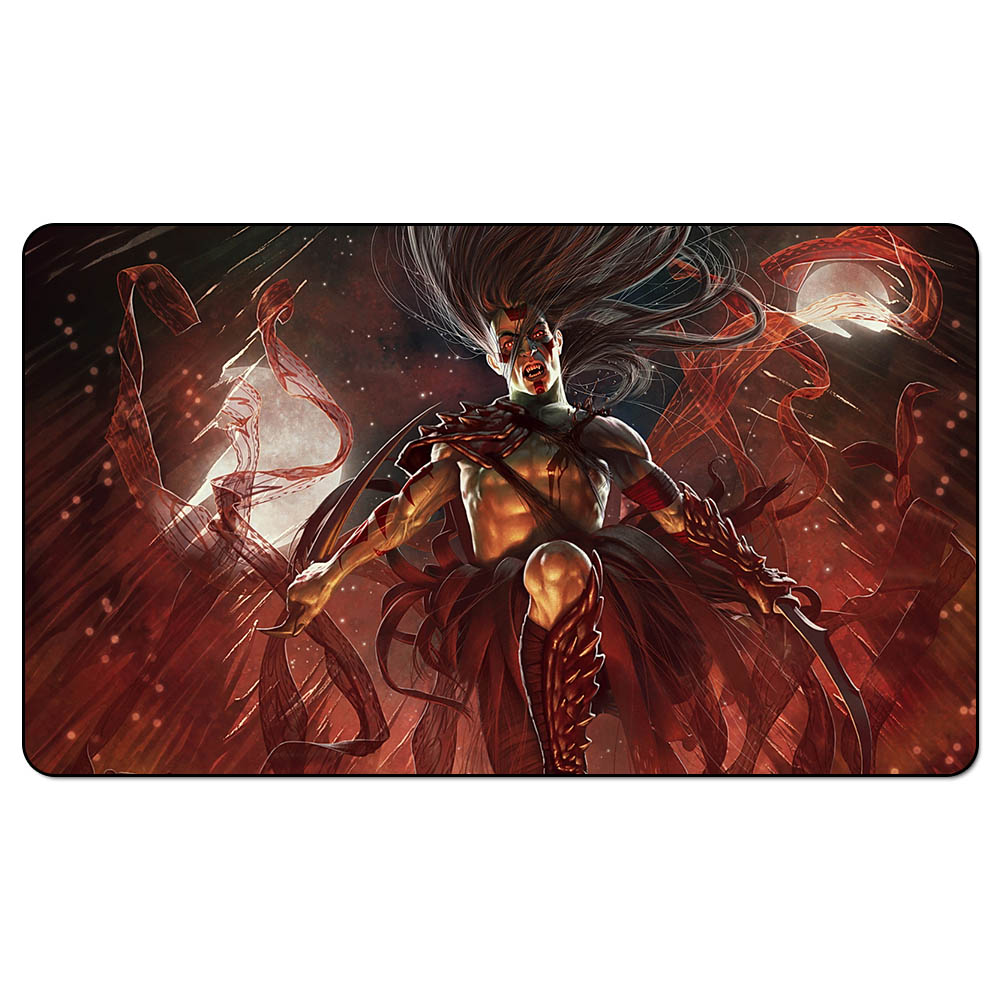 Mtg playmat vampire lacerator playmats for magical the gathering board game table mat in board - Magic the gathering game table ...