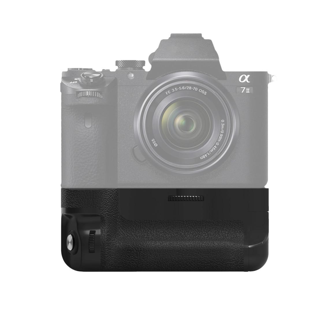 Meike MK-A7II Battery vertical Grip for Sony A7 II A7R II as Sony VG-C2EM батарейный блок sony vg c2em для a7 ii