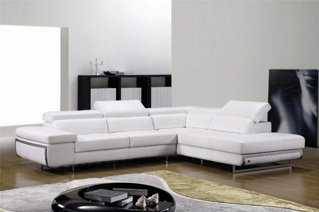 Tienda Online Sofás para sala de estar con sofá de cuero moderno ...