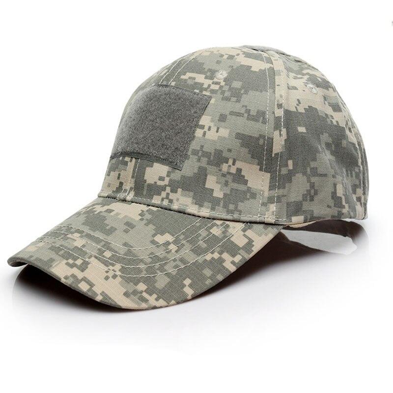Тактический Бейсбол Кепки для человека камуфляжной Повседневное папа шляпа мужской