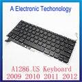Новая клавиатура для ноутбука 2009-2012 Для Apple MacBook Pro A1286 клавиатуры США замена клавиатуры